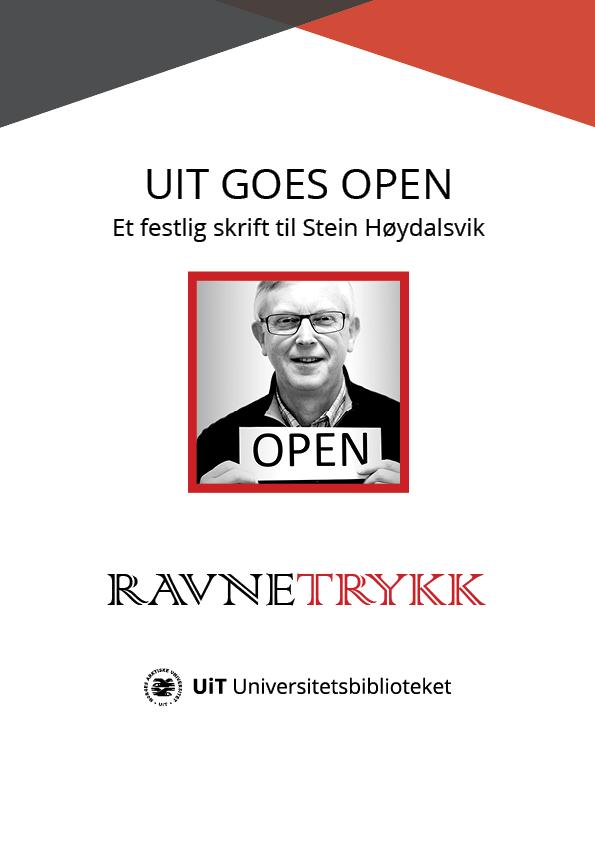 View No. 39 (2020): UiT goes open: Et festlig skrift til Stein Høydalsvik