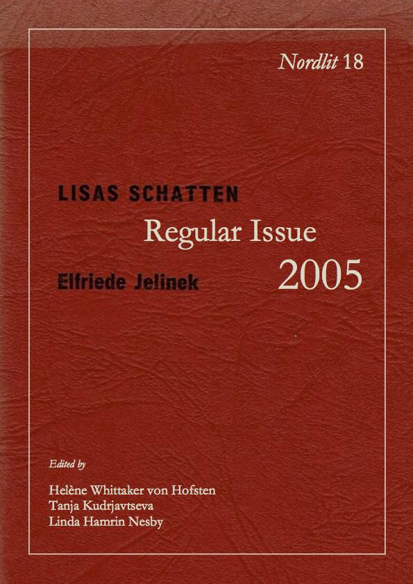 View No. 18 (2005): Regular Issue 2005