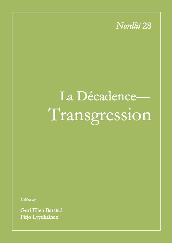 View No. 28 (2011): La Décadence ou une Esthétique de la Transgression