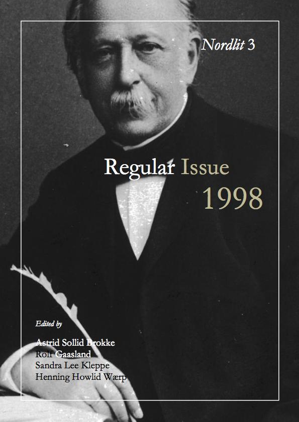View No. 3 (1998): Regular Issue 1998