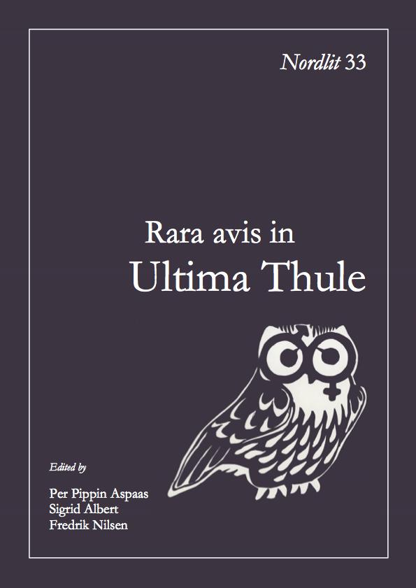 View No. 33 (2014): Rara avis in Ultima Thule