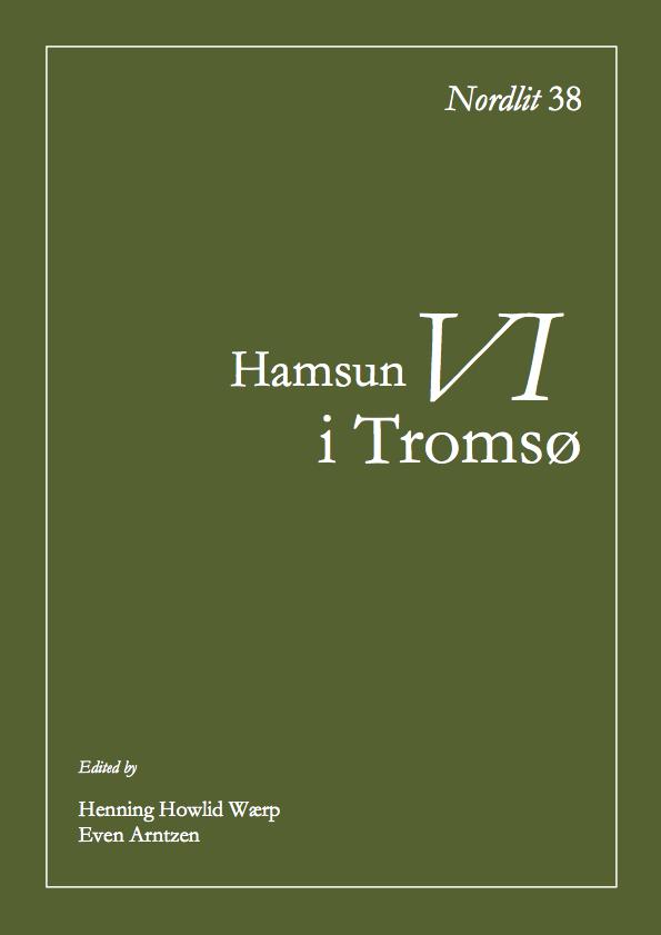 View No. 38 (2016): Hamsun i Tromsø VI