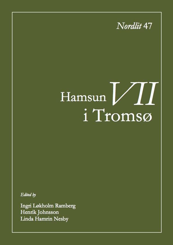 View No. 47 (2020): Hamsun i Tromsø VII
