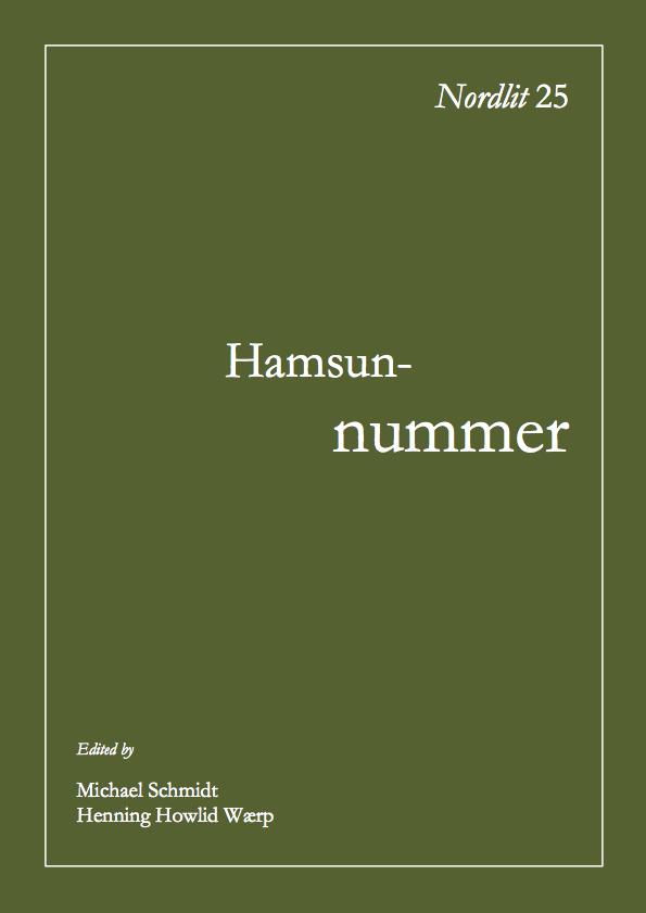 View No. 25 (2009): Hamsun-nummer
