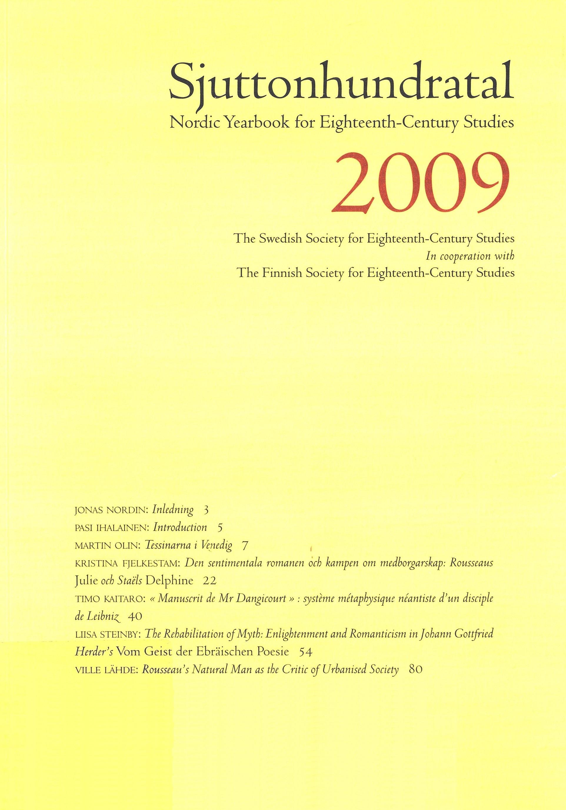 View Vol. 6 (2009)